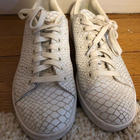 be59d39c Adidas Stan Smith reptile snake print sneakers 7.5